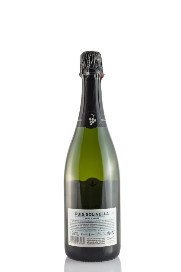CAVA BRUT NATURE SOLIVELLA DARRERE