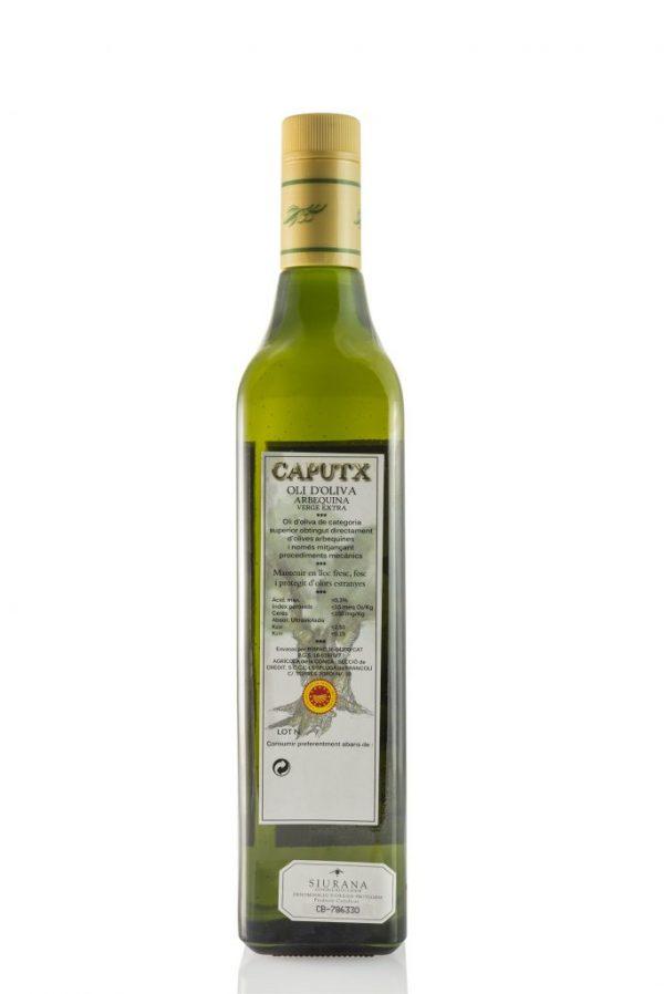 OLI CAPUTX 750ML DARRERE